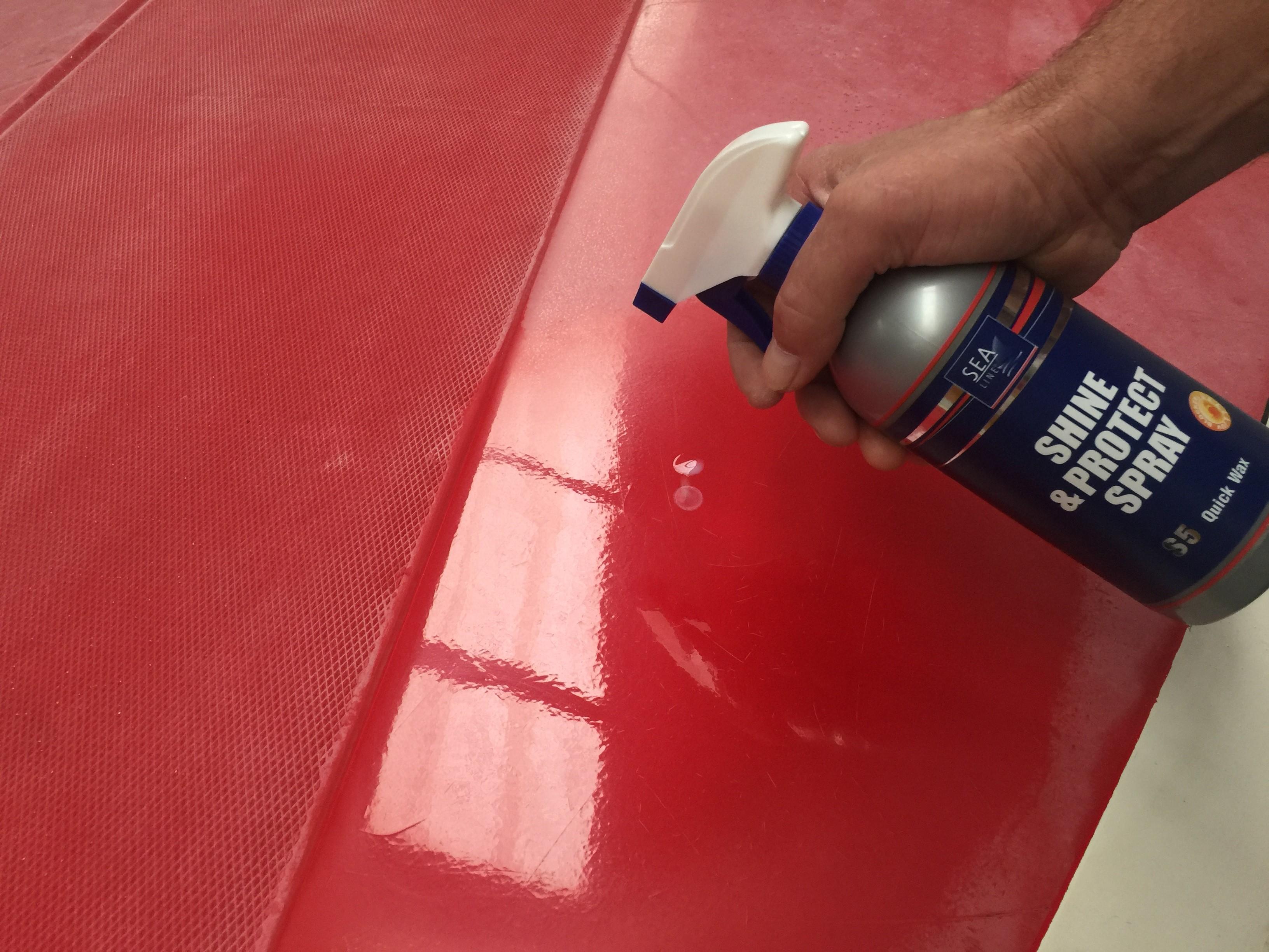 Sealine S5 quick wax