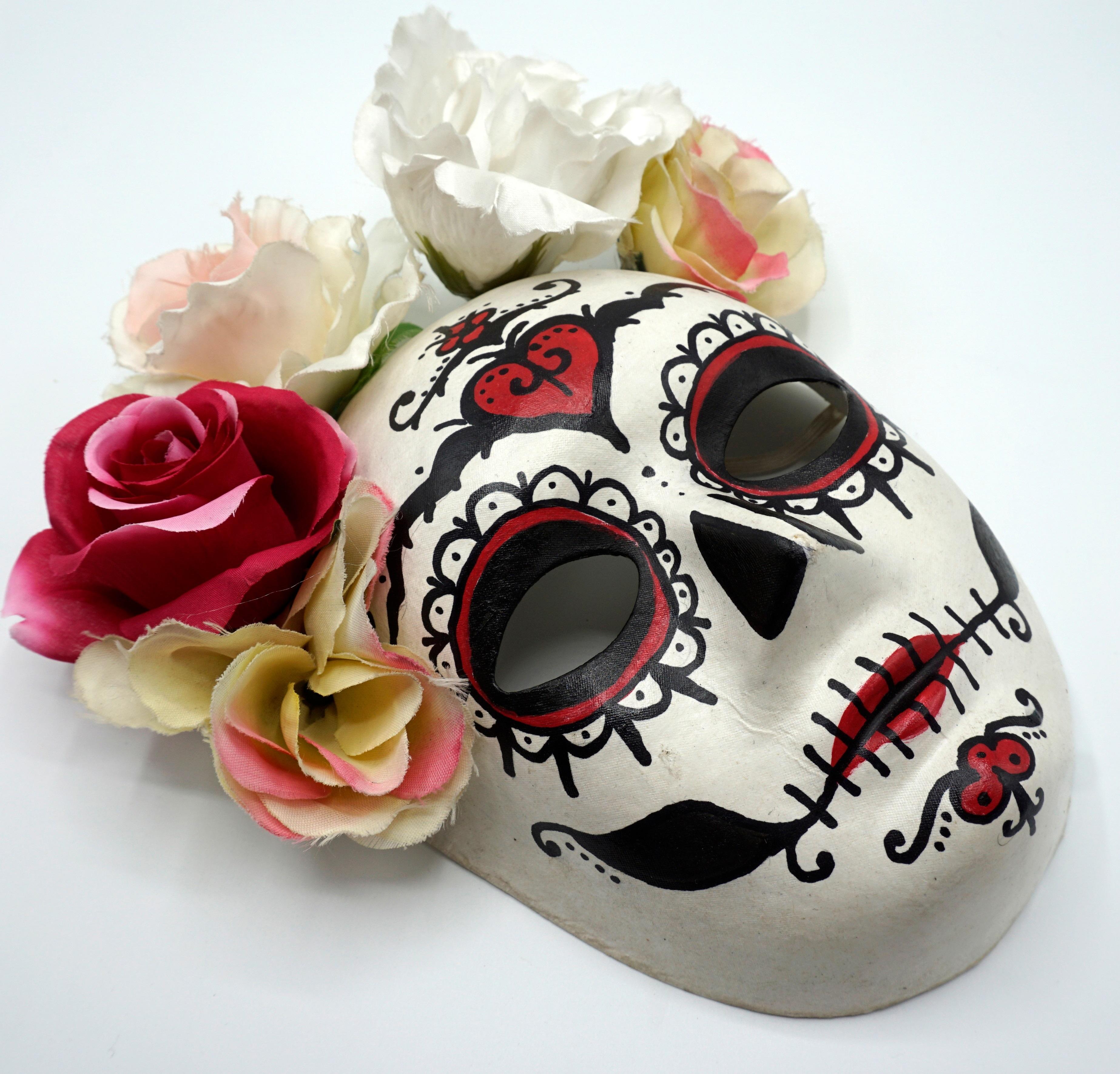Masker maken_Sugar Skull